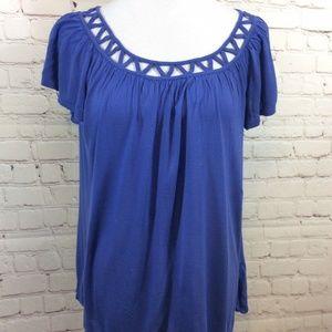 JohnPaulRichard Womens Loose Blouse Shirt Size Med